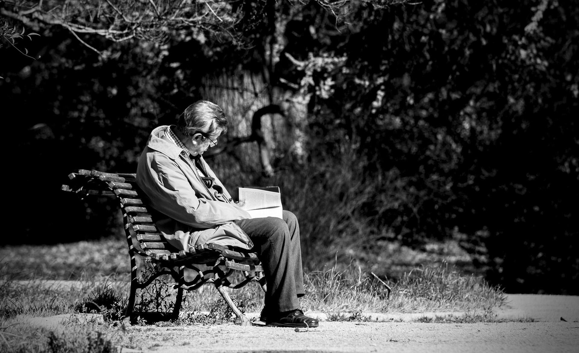 La solitudine dell'anziano
